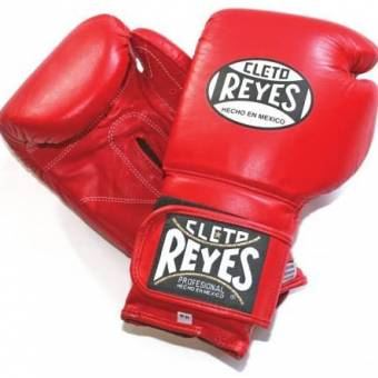 Cleto reyes velcro sparring boxing gloves red