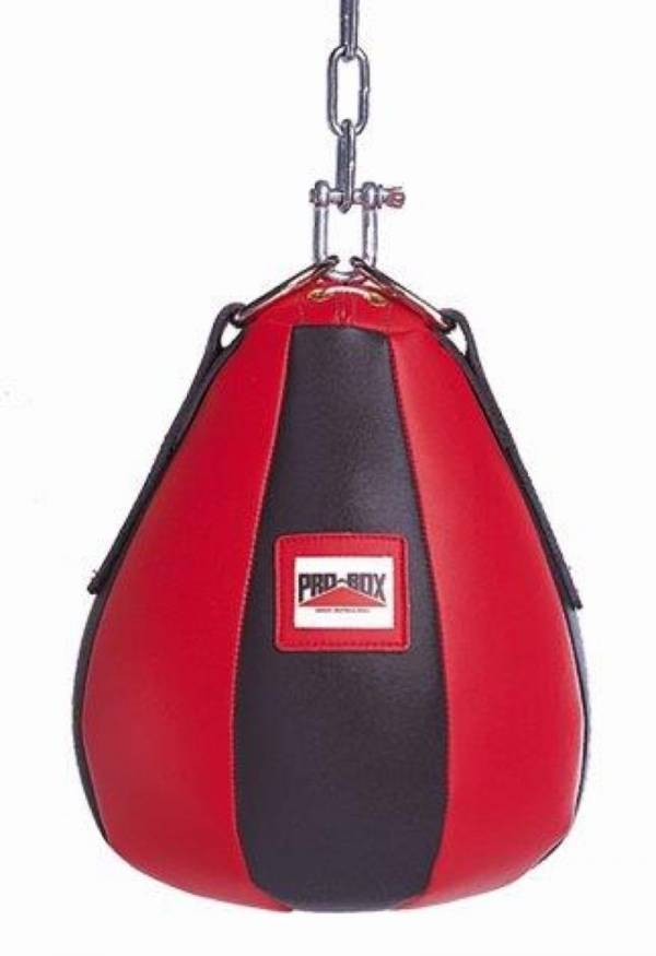 Pro Box Heavy Maize Ball - Black/Red