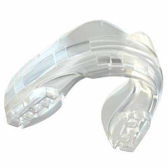 SAFEJAWZ Ortho Series Self-Fit Mouthguard for Braces - Clear